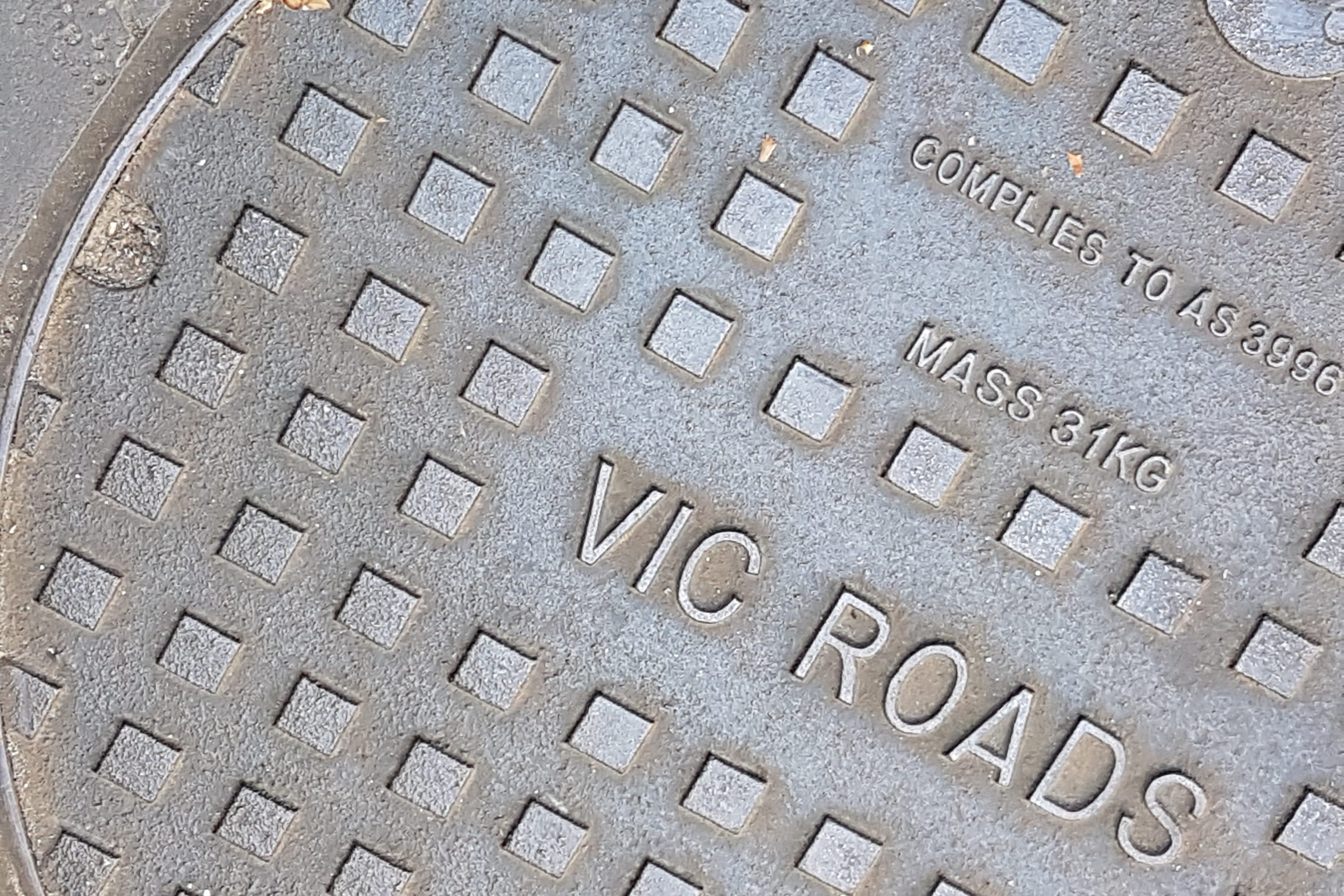 Manholes of Melbourne