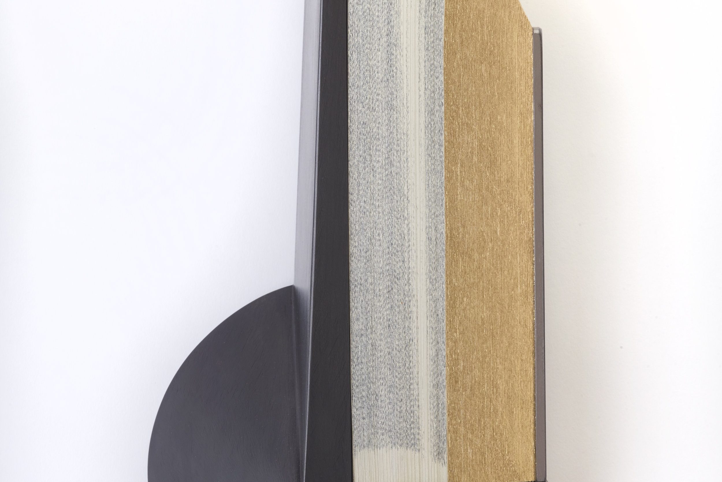 Andrew Hayes: Wood, Metal, Books