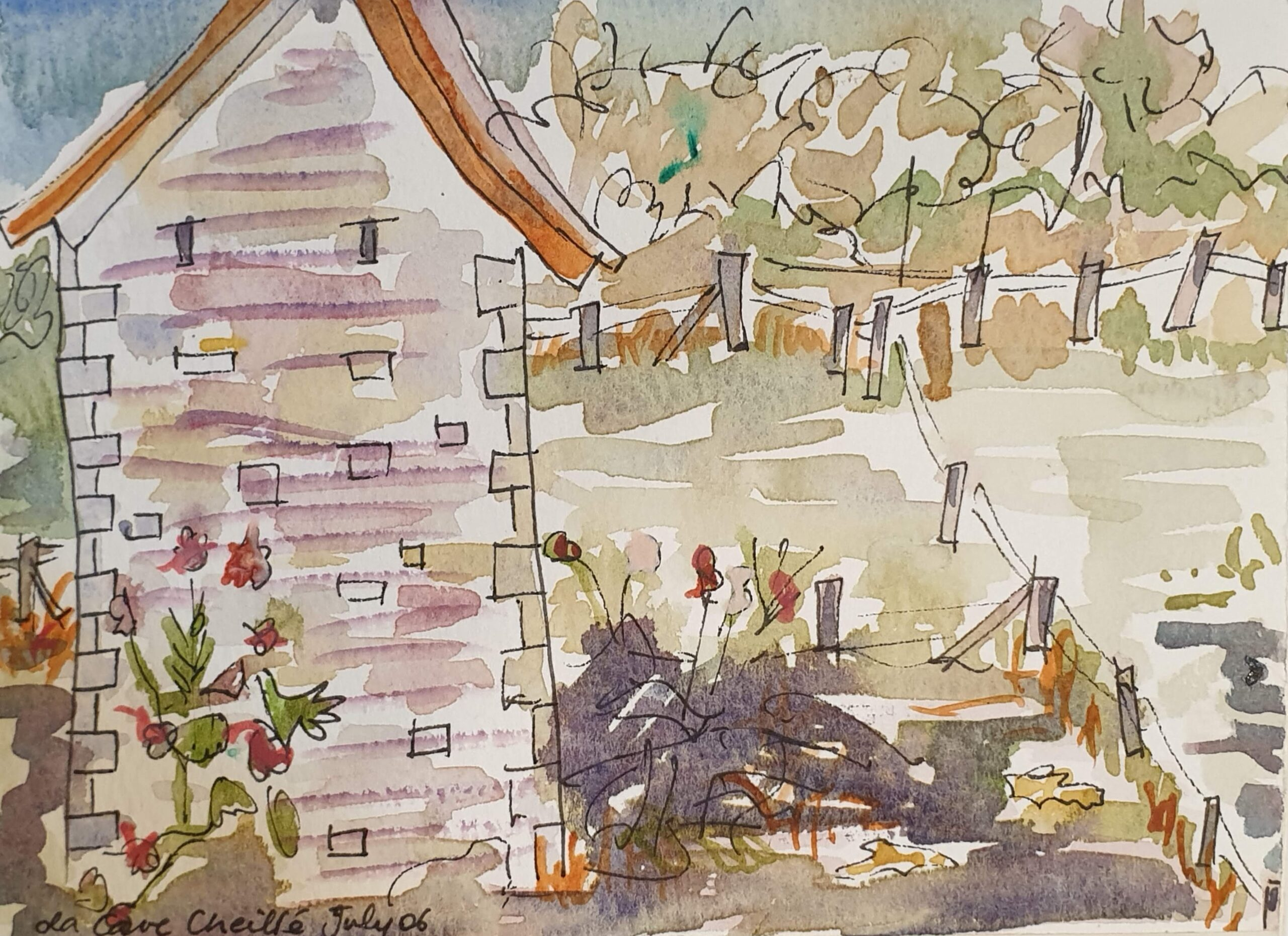 Watercolours from the past