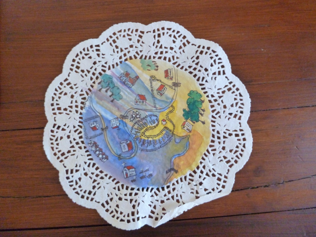 Doilies and maps